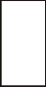 Super Sale Plaque White with Black Edge 5.25x10