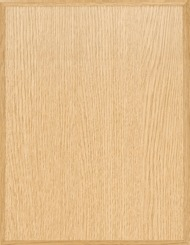 Satin Light Oak Laser Plaque Board 10.5x13