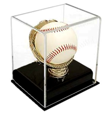 Gold Glove Baseball Holder