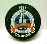 91 Stanley Cup Puck