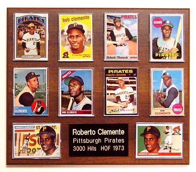 10 Card Plaque