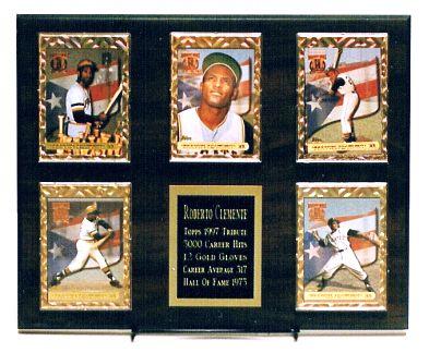 5 Card Plaque Deluxe